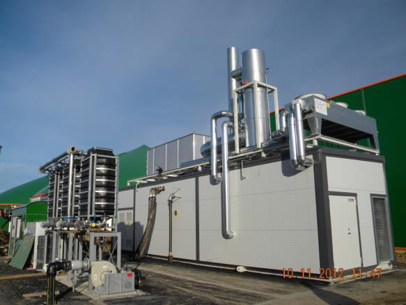 Biogas CHP plant in Estonia