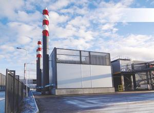 Gas Turbine CHP plant in Russia 1